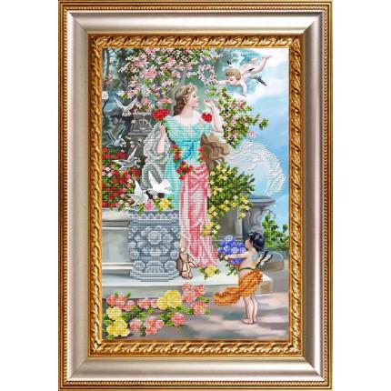 Рисунок на ткани К-3128 Вестники любви и счастья (арт. К-3128)