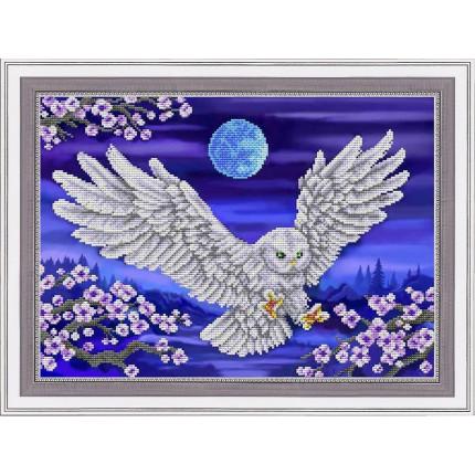 Рисунок на ткани К-3135-ш Белая сова (арт. К-3135-ш)