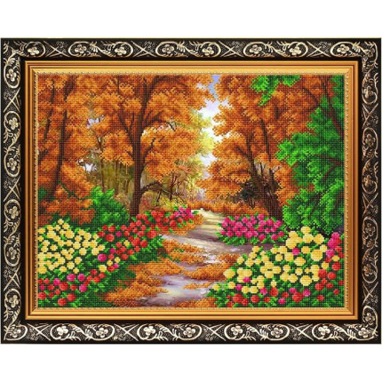 Рисунок на ткани К-3505 Осенний парк (арт. К-3505)
