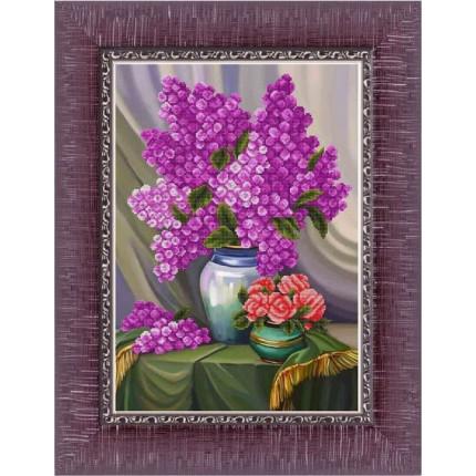 Рисунок на ткани К-3514 Сирень и розы (арт. К-3514)