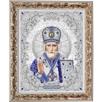 БЛАГОВЕСТ ЖС-3003 Рисунок на ткани ЖС-3003 Святой Николай в жемчуге