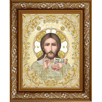БЛАГОВЕСТ ЖС-3005 Рисунок на ткани ЖС-3005 Господь Вседержитель в жемчуге