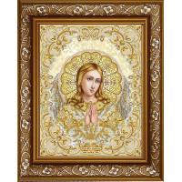БЛАГОВЕСТ ЖС-3007 Рисунок на ткани ЖС-3007 Ангель Хранитель в жемчуге
