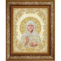 БЛАГОВЕСТ ЖС-3013 Рисунок на ткани ЖС-3013 Матрона Московская в жемчуге