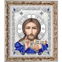 БЛАГОВЕСТ ЖС-4002 Рисунок на ткани ЖС-4002 Господь Вседержитель в жемчуге