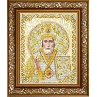 БЛАГОВЕСТ ЖС-4006 Рисунок на ткани ЖС-4006 Святой Николай в жемчуге