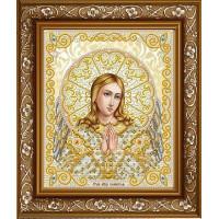 БЛАГОВЕСТ ЖС-4007 Рисунок на ткани ЖС-4007 Ангель Хранитель в жемчуге