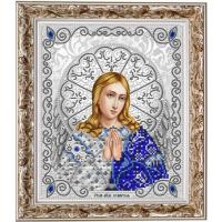 БЛАГОВЕСТ ЖС-4008 Рисунок на ткани ЖС-4008 Ангель Хранитель в жемчуге