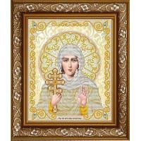 БЛАГОВЕСТ ЖС-4010 Рисунок на ткани ЖС-4010 Святая Ксения в жемчуге