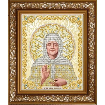 Рисунок на ткани ЖС-4013 Матрона Московская в жемчуге (арт. ЖС-4013)