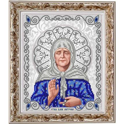 Рисунок на ткани ЖС-4014 Матрона Московская в жемчуге (арт. ЖС-4014)