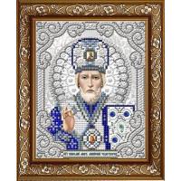 БЛАГОВЕСТ ЖС-5003 Рисунок на ткани ЖС-5003 Святой Николай в жемчуге