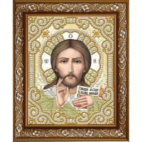 БЛАГОВЕСТ ЖС-5005 Рисунок на ткани ЖС-5005 Господь Вседержитель в жемчуге