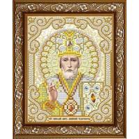 БЛАГОВЕСТ ЖС-5006 Рисунок на ткани ЖС-5006 Святой Николай в жемчуге