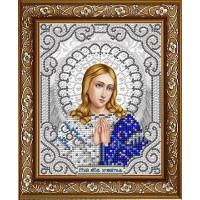 БЛАГОВЕСТ ЖС-5008 Рисунок на ткани ЖС-5008 Ангель Хранитель в жемчуге