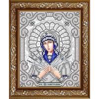 БЛАГОВЕСТ ЖС-5011 Рисунок на ткани ЖС-5011 Пресвятая Богородица Семистрельная в жемчуге