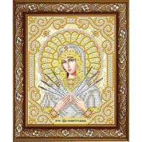 БЛАГОВЕСТ ЖС-5012 Рисунок на ткани ЖС-5012 Пресвятая Богородица Семистрельная в жемчуге