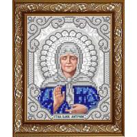 БЛАГОВЕСТ ЖС-5014 Рисунок на ткани ЖС-5014 Матрона Московская в жемчуге