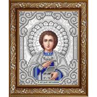 БЛАГОВЕСТ ЖС-5016 Рисунок на ткани ЖС-5016 Пантелеймон Целитель в жемчуге