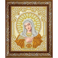 БЛАГОВЕСТ ЖС-5019 Рисунок на ткани ЖС-5019 Св. Богородица Умиление  в жемчуге