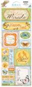 """Bo Bunny 029 Стикеры-украшения BoBunny для скрапбукинга """"Heaven Sent CS Sticker"""""""
