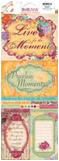 """Bo Bunny 732 Стикеры - украшения для скрапбукинга BoBunny """"Moments CS Sticker"""""""