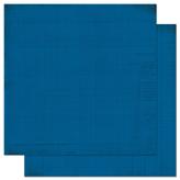 "Bo Bunny арт 12DDJ155 Бумага для скрапбукинга  BoBunny  размер 31х31см (арт 12DDJ155, коллекция "" Dark Denim Journal"")"
