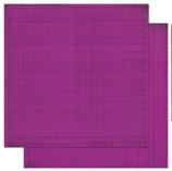 "Bo Bunny арт 12GJ162 Бумага для скрапбукинга  BoBunny  размер 31х31см (арт 12GJ162, коллекция "" Grape Journal"")"