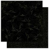 "Bo Bunny арт 12LIW544 Бумага для скрапбукинга  BoBunny  размер 31х31см (арт 12LIW544, коллекция "" Licorice Flourish"")"