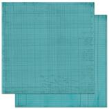 "Bo Bunny арт 12OJ193 Бумага для скрапбукинга  BoBunny  размер 31х31см (арт 12OJ193, коллекция "" Ocean Journal"")"