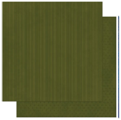 "Bo Bunny арт 12OS384 Бумага для скрапбукинга  BoBunny  размер 31х31см (арт 12OS384, коллекция "" Olive Stripe"")"