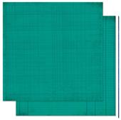 "Bo Bunny арт 12TJ254 Бумага для скрапбукинга  BoBunny  размер 31х31см (арт 12TJ254, коллекция "" Turquoise Journal"")"