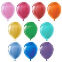 """BOOMZEE BLS-30 """"BOOMZEE"""" BLS-30 Набор воздушных шаров 30 см 10 шт. 01-ассорти стандарт"""