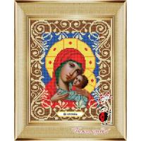 "БОЖЬЯ КОРОВКА 0044БК Рисунок на ткани «Божья коровка» 0044 ""Богородица Корсунская"" 20х25 см ,"