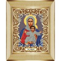 """БОЖЬЯ КОРОВКА 0052 Рисунок на ткани «Божья коровка» 0052 """"Богородица Леушинская"""" 20х25 см ,"""