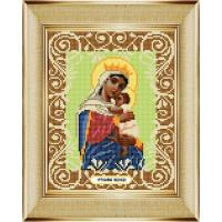 """БОЖЬЯ КОРОВКА 0055БК Рисунок на ткани «Божья коровка» 0055 """"Богородица Отчаянных Единая Надежда"""" 20х25 см ,"""