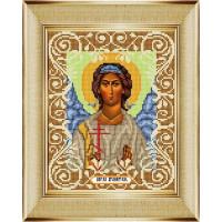 """БОЖЬЯ КОРОВКА 0057БК Рисунок на ткани «Божья коровка» 0057 """"Ангел Хранитель"""" 20х25 см ,"""