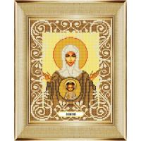"""БОЖЬЯ КОРОВКА 0061БК Рисунок на ткани «Божья коровка» 0061 """"Богородица Знамение"""" 20х25 см ,"""