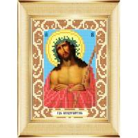 """БОЖЬЯ КОРОВКА 0071(12х16) Рисунок на ткани «Божья коровка» 0071 """"Иисус в терновом венце"""" 12х16 см ,"""