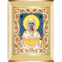 "БОЖЬЯ КОРОВКА 0073(12х16) Рисунок на ткани «Божья коровка» 0073 ""Богородица Умиление"" 12х16 см ,"