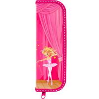 """Brauberg 103718 Пенал BRAUBERG, 1 отделение, ламинированный картон, 19х7 см, """"Балерина"""", 103718"""