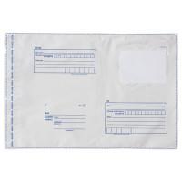 "Brauberg 112204 Конверт-пакеты ПОЛИЭТИЛЕН B3 (360х500 мм) до 500 листов, отрывная лента, ""Куда-Кому"", КОМПЛЕКТ 50 шт., BRAUBERG, 112204"
