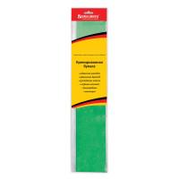 Brauberg 124739 Бумага гофрированная (креповая) МЕТАЛЛИК, 50 г/м2, зеленая, 50х100 см, европодвес, BRAUBERG, 124739
