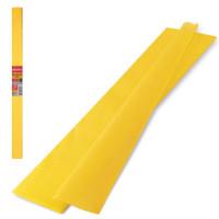 Brauberg 126529 Бумага гофрированная (креповая) ПЛОТНАЯ, 32 г/м2, желтая, 50х250 см, в рулоне, BRAUBERG, 126529