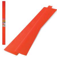 Brauberg 126530 Бумага гофрированная (креповая) ПЛОТНАЯ, 32 г/м2, оранжевая, 50х250 см, в рулоне, BRAUBERG, 126530