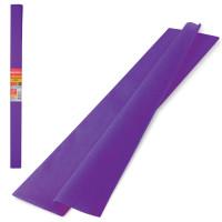Brauberg 126533 Бумага гофрированная (креповая) ПЛОТНАЯ, 32 г/м2, фиолетовая, 50х250 см, в рулоне, BRAUBERG, 126533