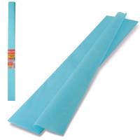 Brauberg 126534 Бумага гофрированная (креповая) ПЛОТНАЯ, 32 г/м2, голубая, 50х250 см, в рулоне, BRAUBERG, 126534