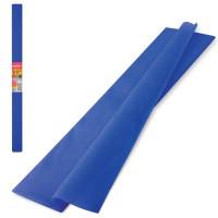 Brauberg 126535 Бумага гофрированная (креповая) ПЛОТНАЯ, 32 г/м2, синяя, 50х250 см, в рулоне, BRAUBERG, 126535