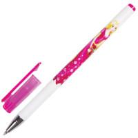 """Brauberg 141537 Ручка шариковая BRAUBERG """"Леди"""", СИНЯЯ, корпус с печатью, узел 0,7 мм, линия письма 0,35 мм, 141537"""