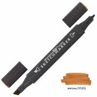 Brauberg 151796 Маркер для скетчинга двусторонний 1 мм - 6 мм BRAUBERG ART CLASSIC, ВИГОНЬ (Y535), 151796